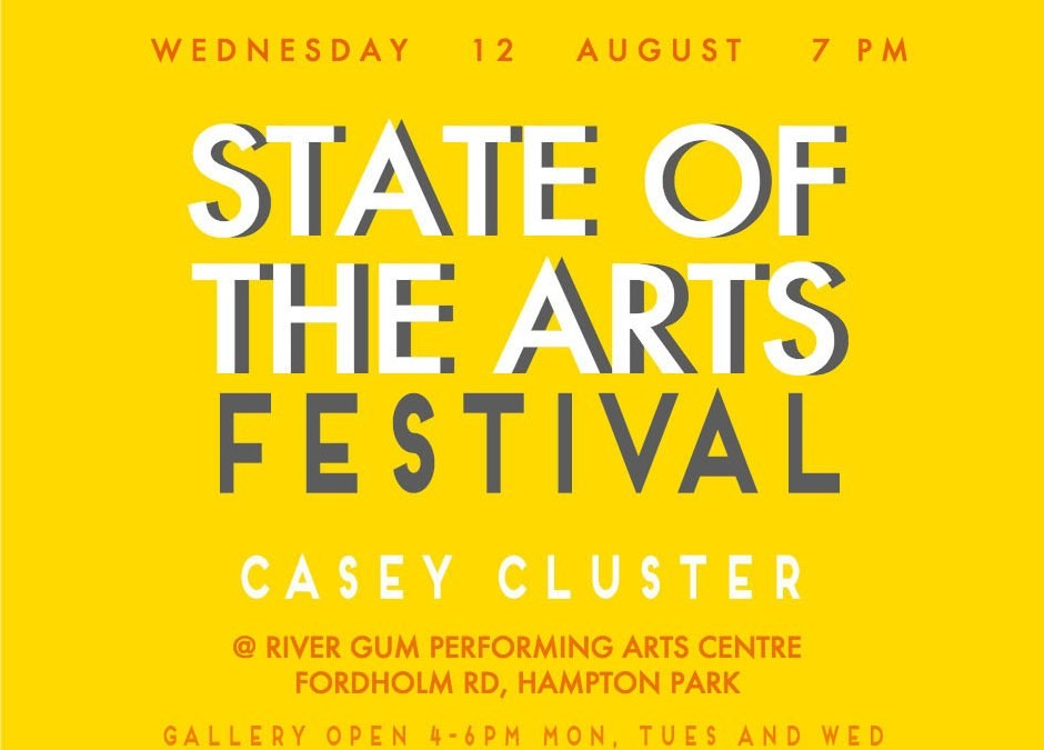 Get your tickets now to the 2015 State of the Arts!